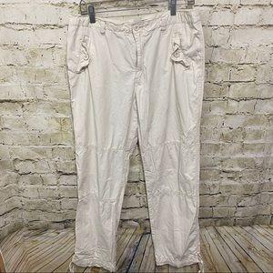 Ralph Lauren Polo Tie Hem Outdoor Casual Pants